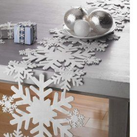 Quel chemin de table pour la table de noel l 39 id e d co - Chemin de table pour noel ...