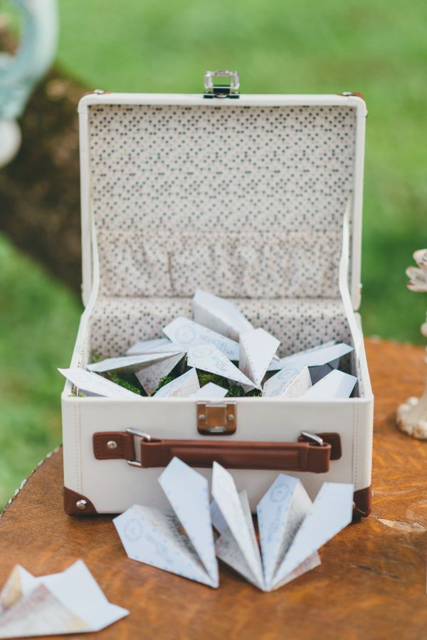 valises alternative livre d'or mariage