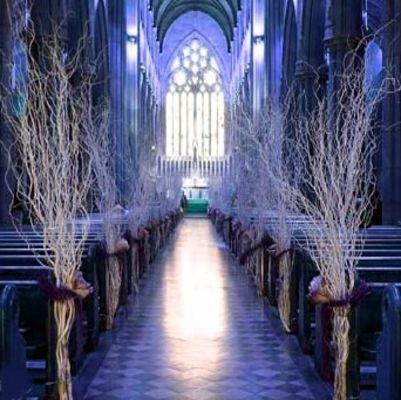 branchage saule tortueux decoration eglise