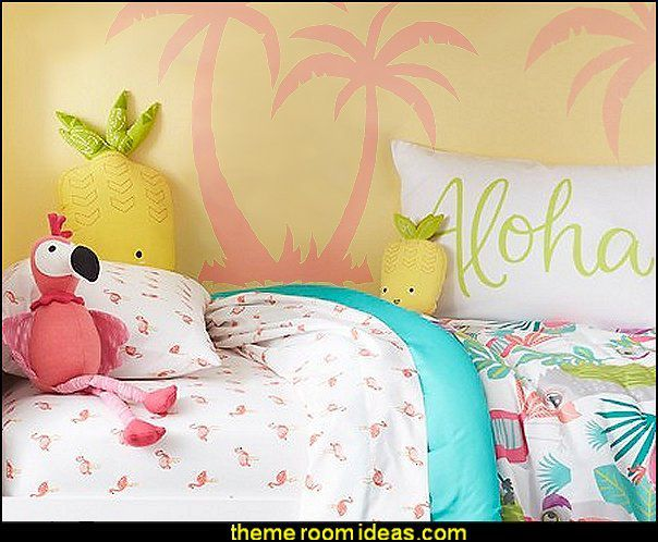 decoration chambre tropical