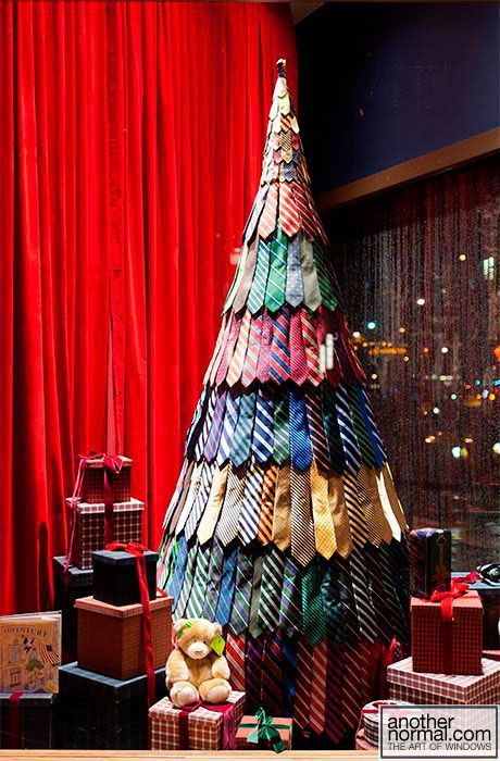sapin de noel en cravate