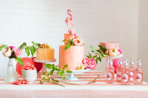 candy bar flamant rose