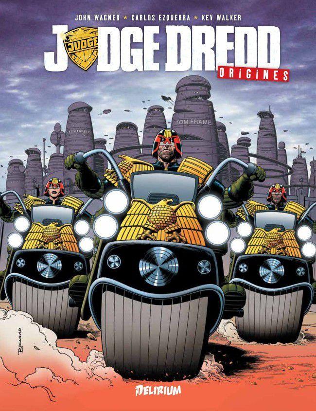 Cover de Judge Dredd !