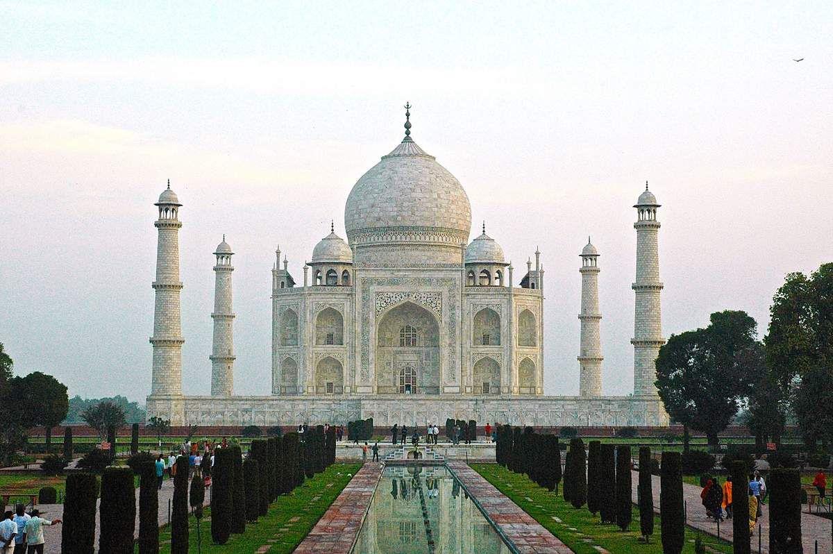 Taj Mahal à Agra Inde