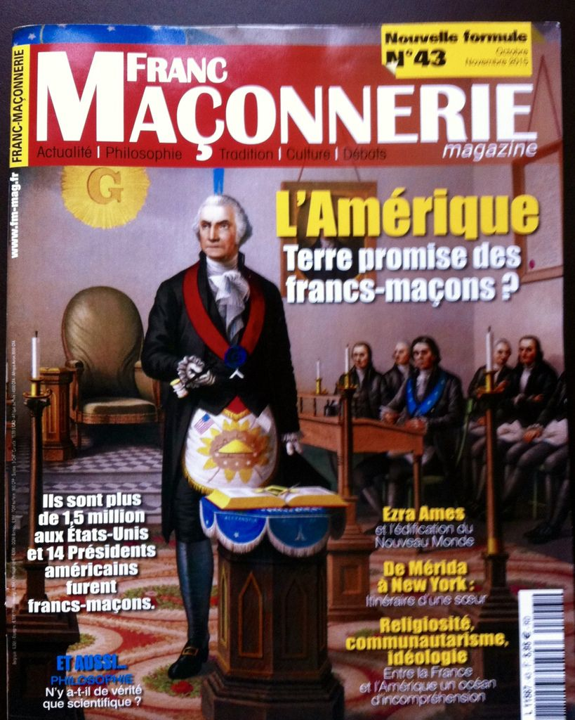 franc maconnerie magazine n 43 la franc ma onnerie au coeur. Black Bedroom Furniture Sets. Home Design Ideas