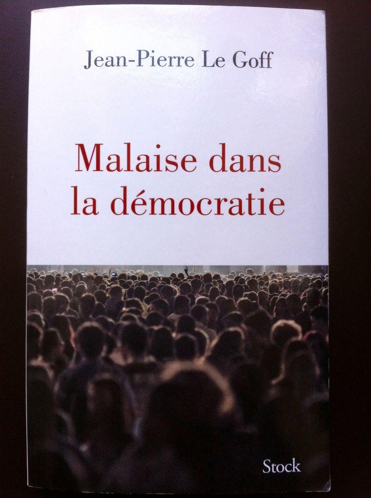 Malaise dans la démocratie Couverture.