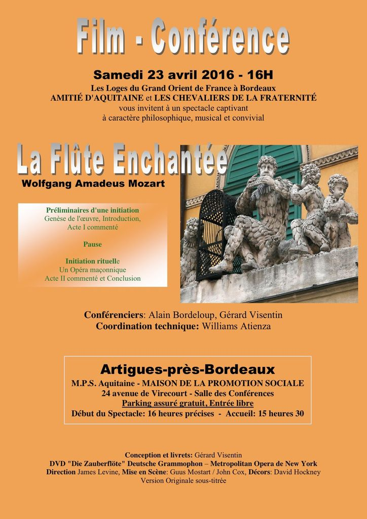 INFOS ! INFOS ! CONFERENCES ! COLLOQUE ! POINTS DE VUE