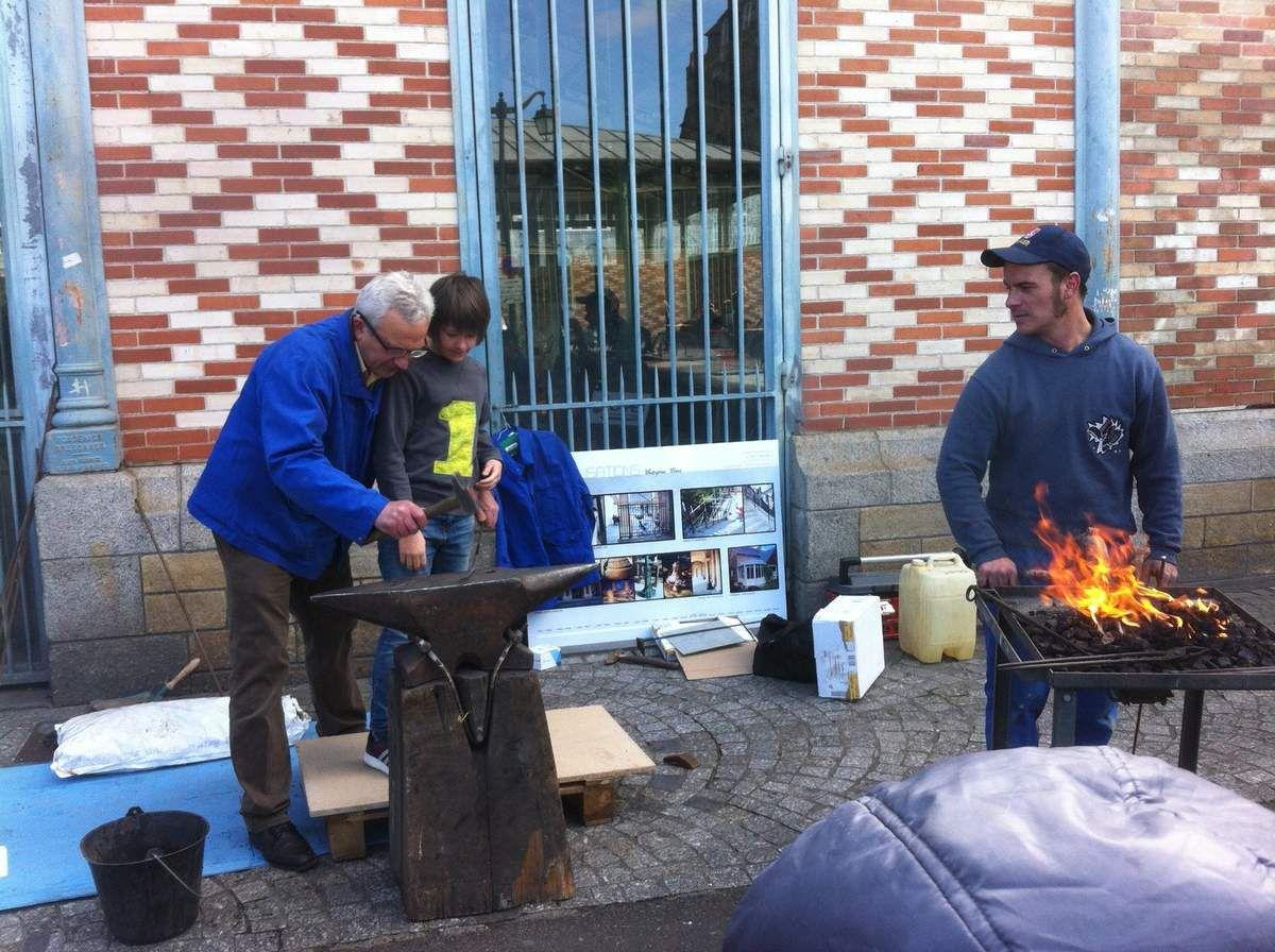 Le travail des métaux, Avant hier initiation halle Martenot à Rennes