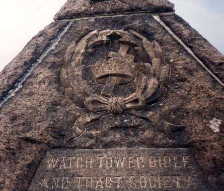 Tombe de Russel dans un site Maçonnique
