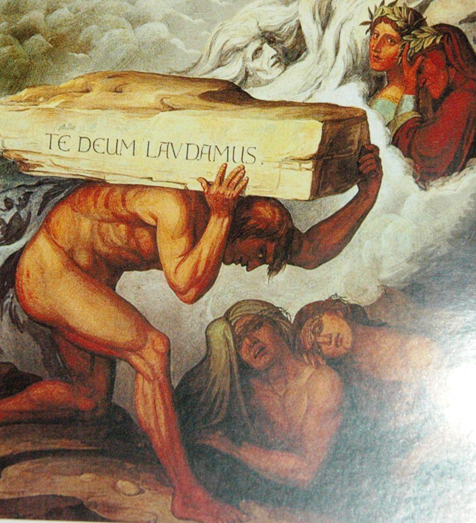 DANTE LA DIVINE COMÉDIE LE POIDS DE L'ORGUEIL