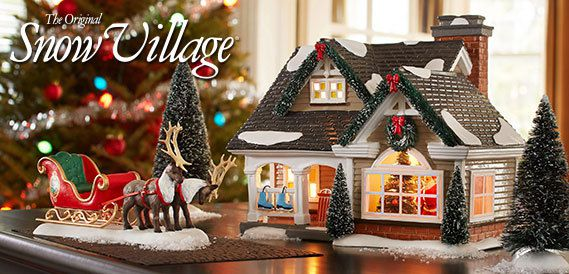 Maisons Dept 56 The Original Snow Village