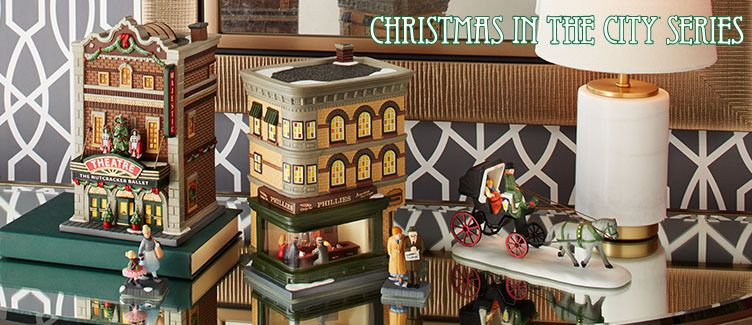 Maisons DEPT 56 Christmas in the City