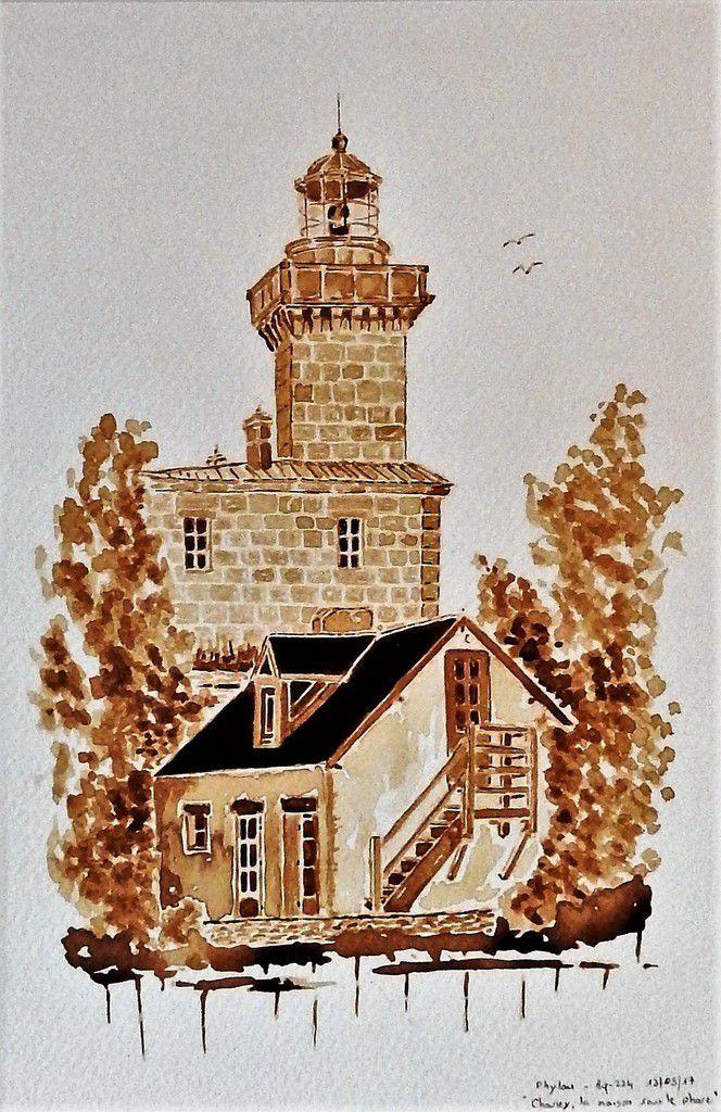 Chausey, la maison sous le phare