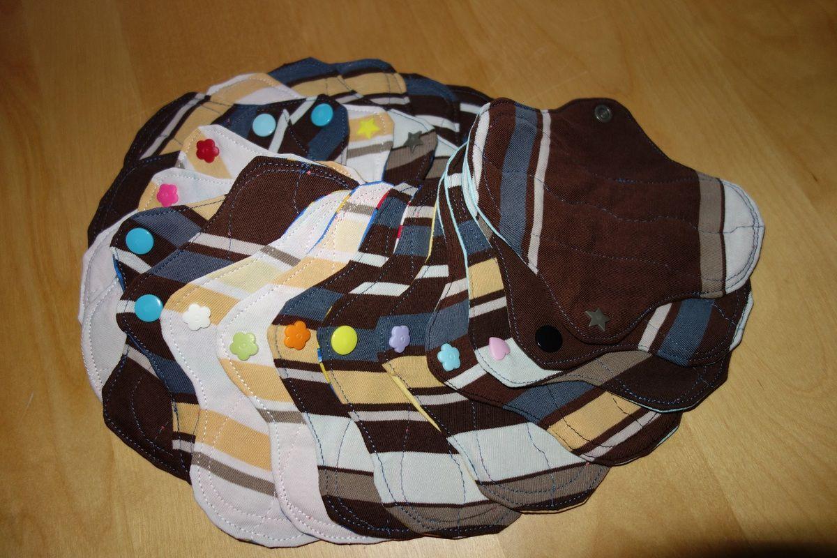 Protège slips lavables