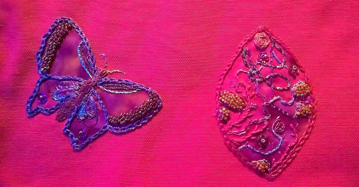 Encore quelques fils métalliques, et le deuxième papillon se posera non loin du premier