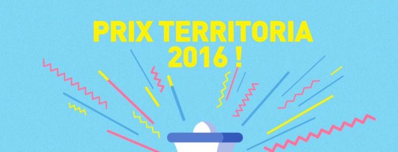 Encouragez vos équipes en participant au Prix Territoria 2016 !