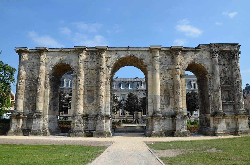 La mobilisation numérique développée par la Ville de Reims pour son opération de mécénat populaire autour de la Porte de Mars a séduit la Fondation du patrimoine - Photo : Ville de Reims.