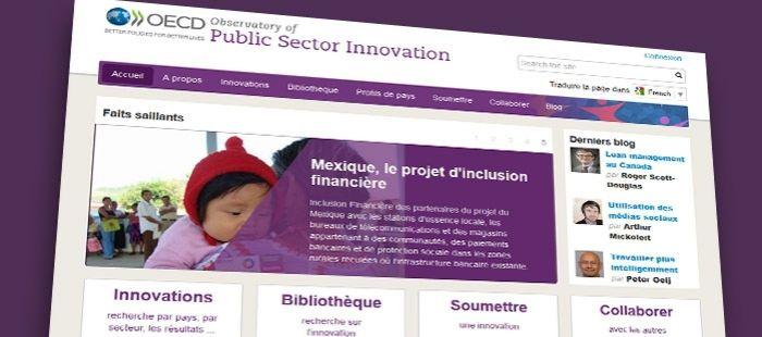 Partagez vos innovations publiques sur la plateforme en ligne de l'OCDE !