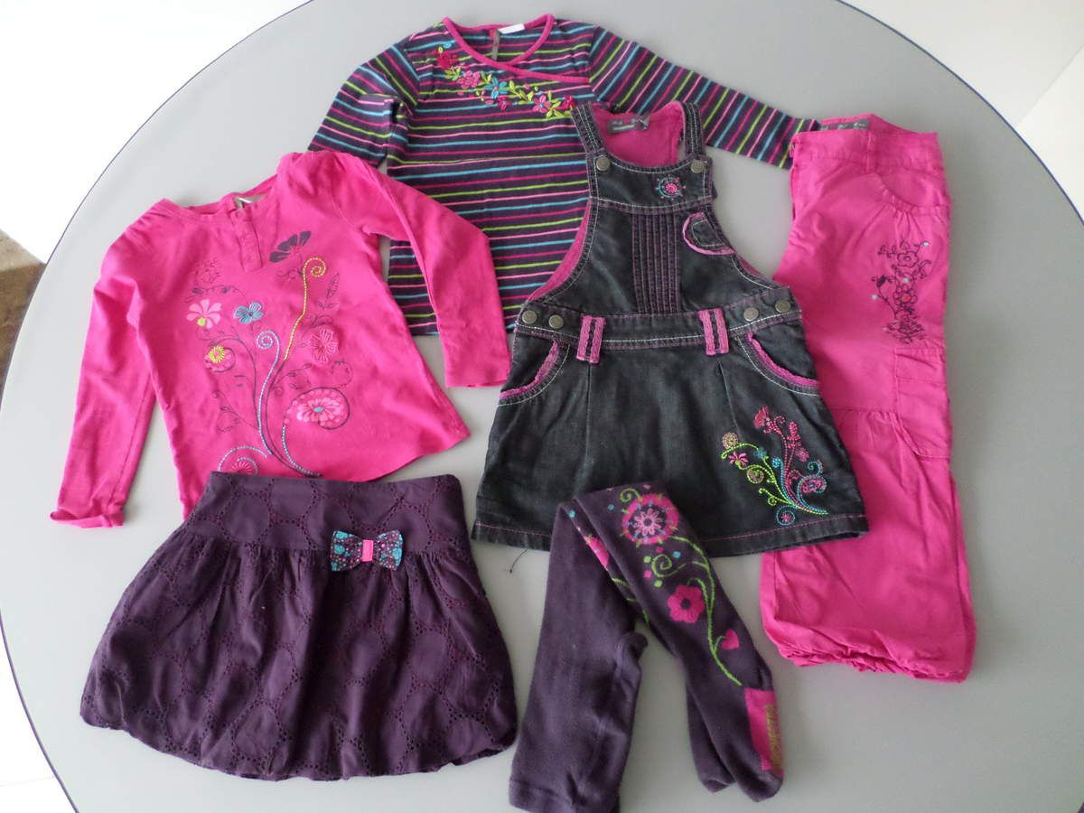 Ensemble robe fille 4 ans