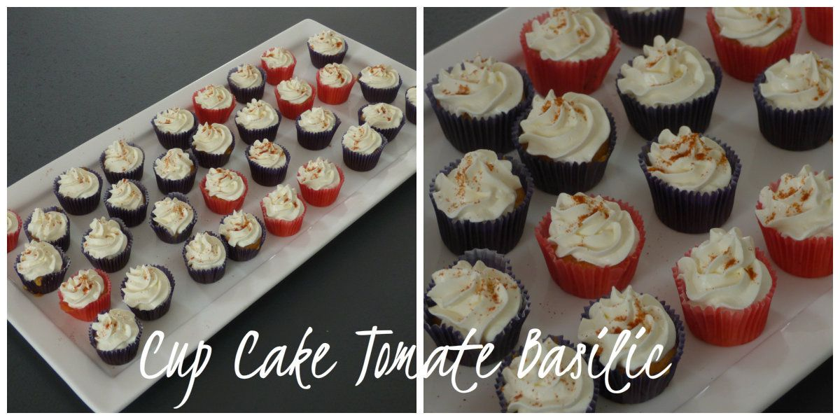 cup cake tomate basilic a table chez emilie. Black Bedroom Furniture Sets. Home Design Ideas