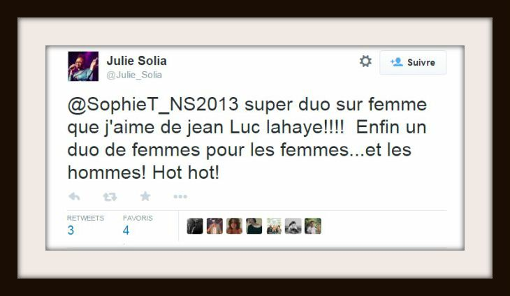 FEMME QUE J'AIME AVϟϟ VS JULIE