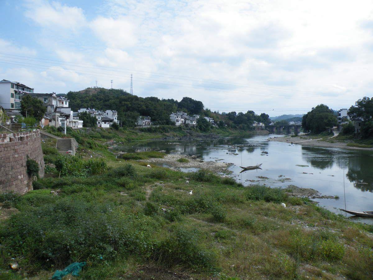 Yuliang, très joli petit port fluvial