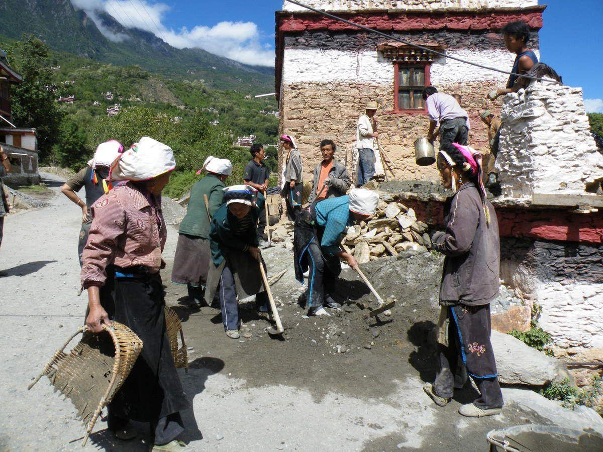 vavoirayeur:Danba et les villages environnants