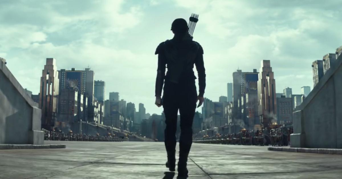 Katniss marchant sur le Capitole !