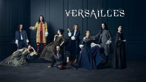 Affiche de la saison 1 de Versailles !