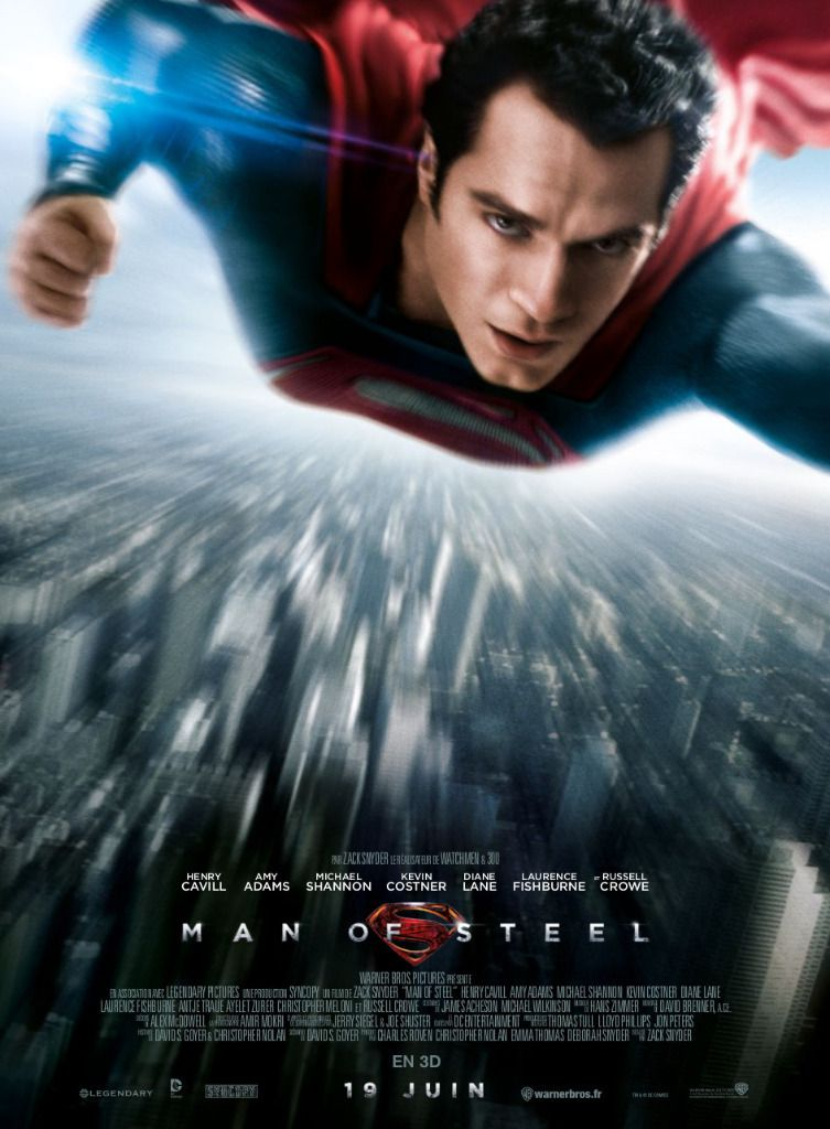 Affiche de Man Of Steel !