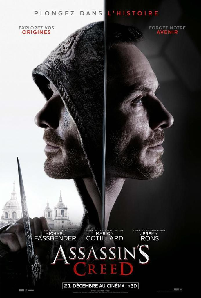 Affiche d'Assassin's Creed !