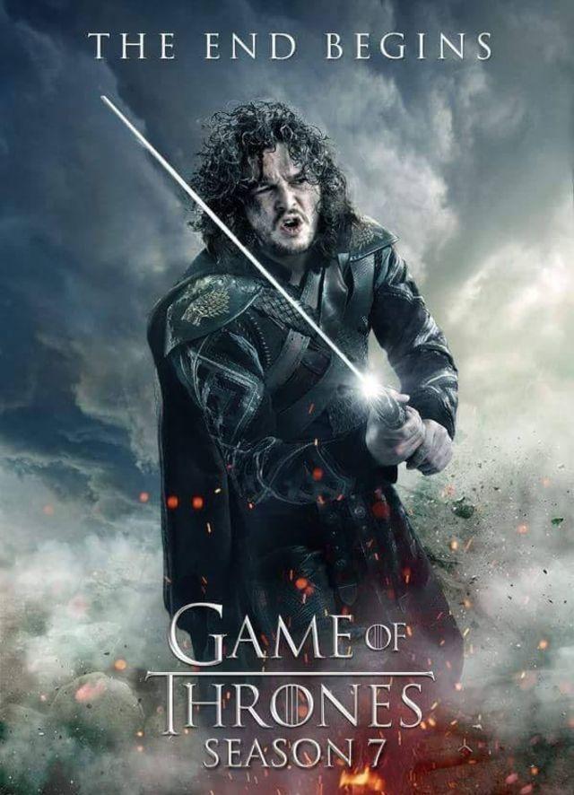 Affiche de la saison 7 de Game of Thrones !