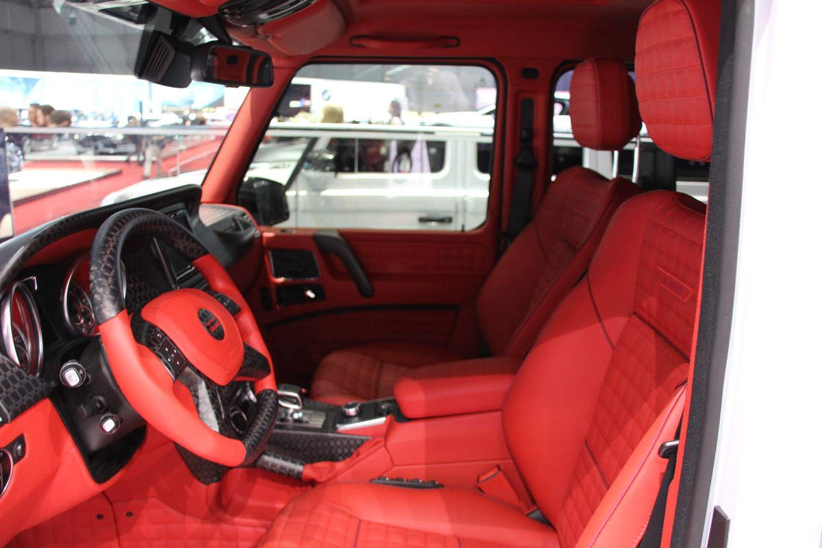 Gims mansory le pr parateur made in luxe supreme tuning for Mercedes s interieur