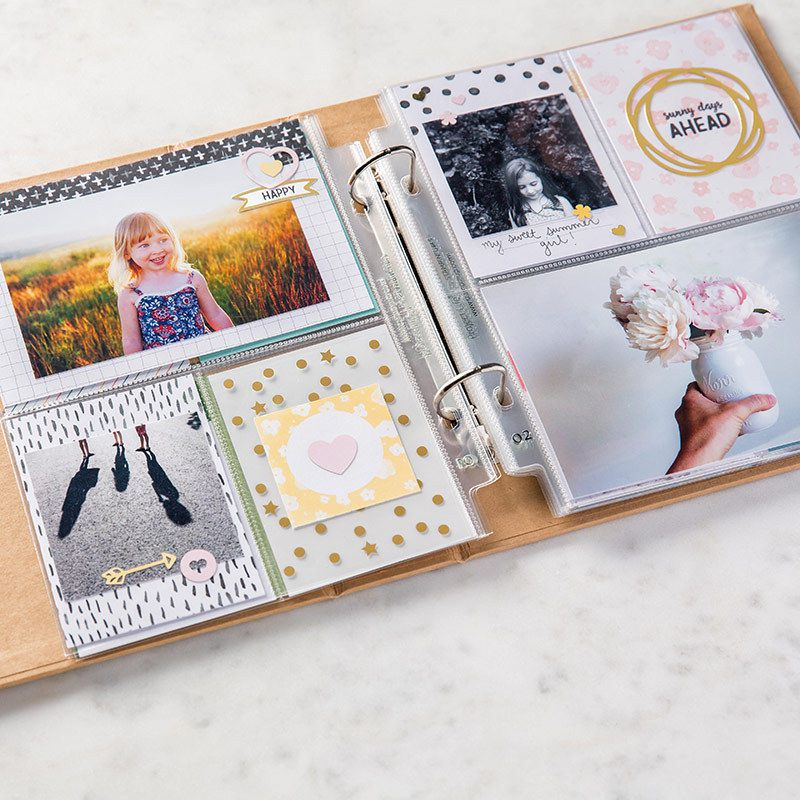 Project Life catalogue Stampin'up ! printemps-été 2016