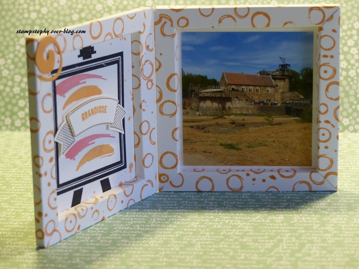 cadre photo Stampin'up !