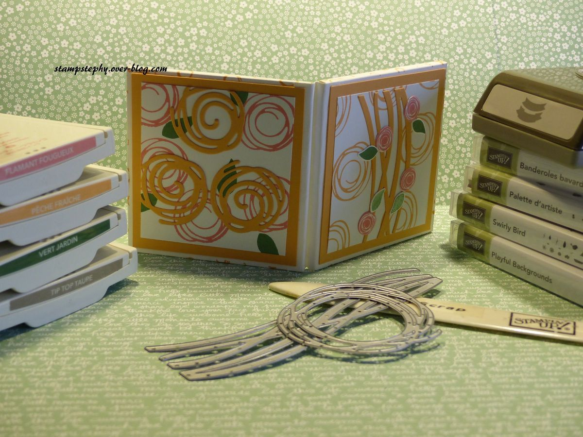 cadre photo Stampin'up!
