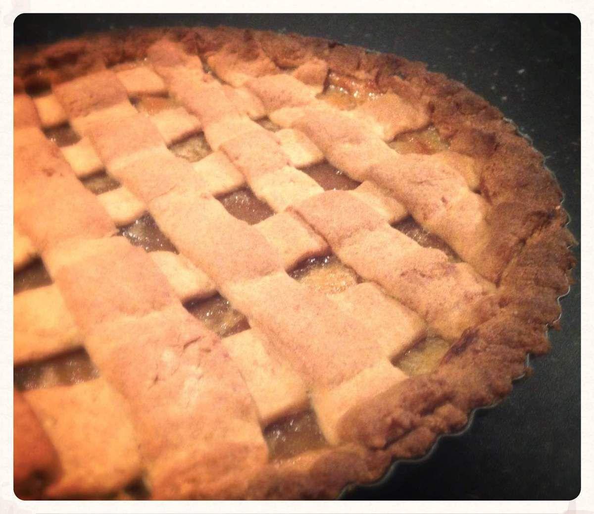Traditionnelle tarte aux pommes