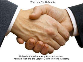 Online Tuition Saudi Arabia - Pakistan, Al-Saudia Virtual Academy