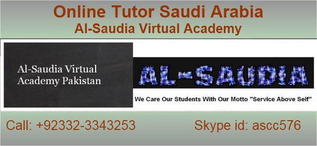 Online Expert Teachers Saudi Arabia