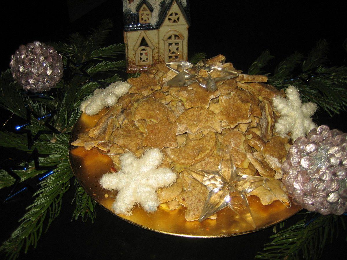 Bredele alsaciens: Etoiles et lunes de Noël