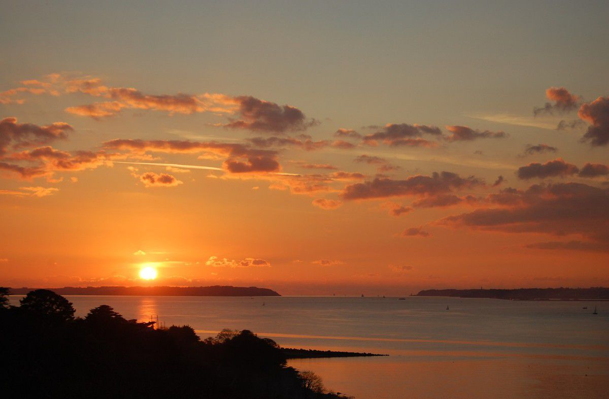 coucher du soleil brest