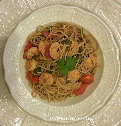 Un plat délicieux et rapide à faire avec des saveurs asiatiques.