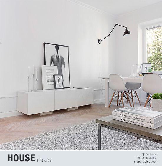 Petit Appartement Minimaliste De 42 M Stockholm Sodzign