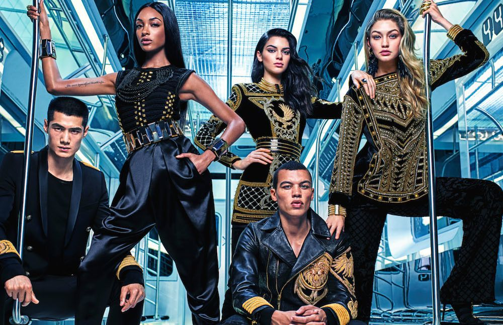 LA COLLABORATION H&amp&#x3B;M &amp&#x3B; BALMAIN