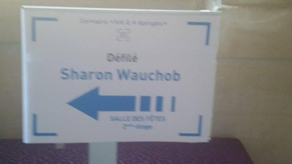 SHARON WAUCHOB FASHION SHOW S-S 2016