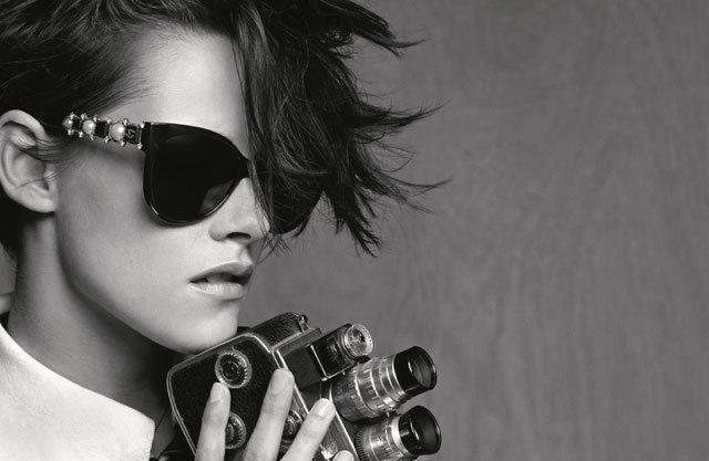 Kirsten Stewart pour la campagne sunglasses pring-summer 2015 de Chanel