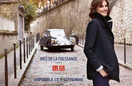 4. INES DE LA FRESSANGE & UNIQLO