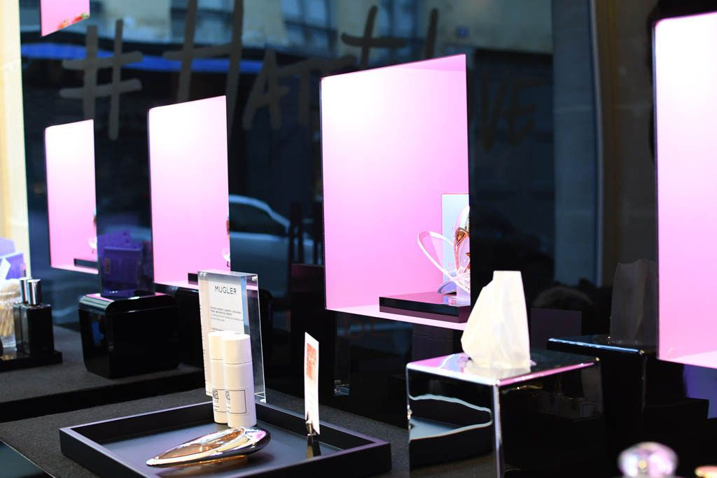 L'EVENEMENT POP-UP STORE THIERRY MUGLER
