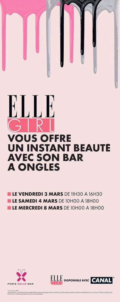 EVENEMENT ELLE GIRL PARIS