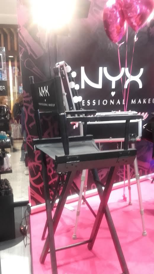 EVENEMENT NYX COSMETICS FRANCE !